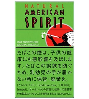 ナチュラル・アメリカン・スピリット・オーガニック・ミント・ウルトラ・ライト